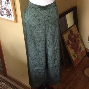 EILEEN FISHER size XL NORI cropped Silk $238 NEW